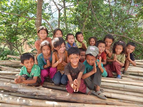 Children helped by the Nepal Foundation